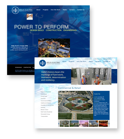 Helix Electric Home Page