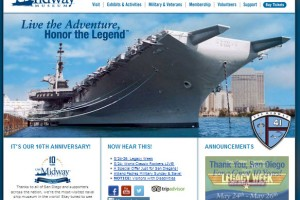 USS Midway Web site