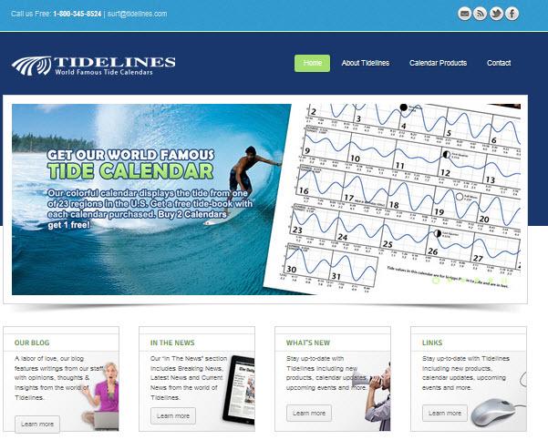Tidelines Web site