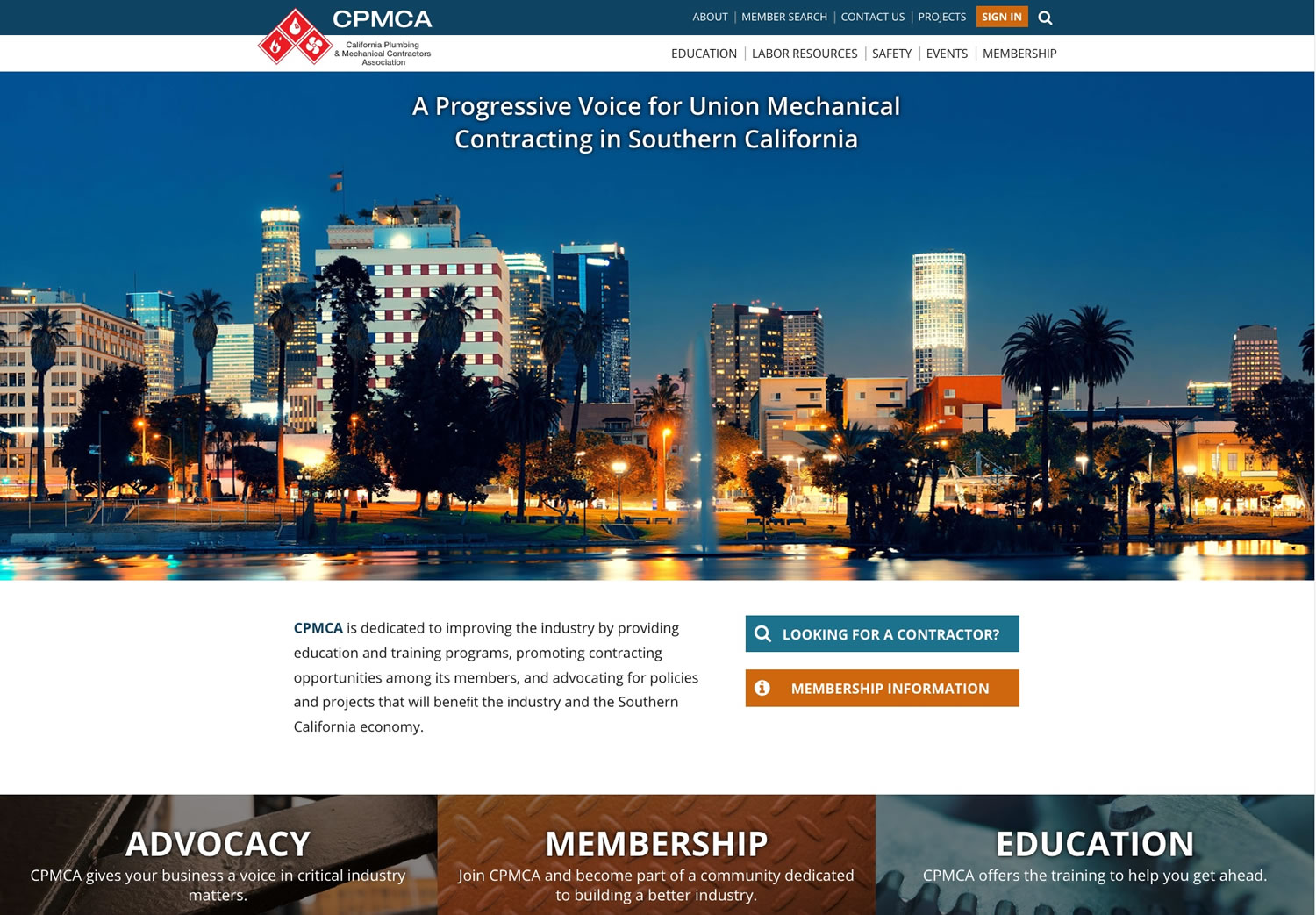 California Plumbing and Mechanical Contractors Association